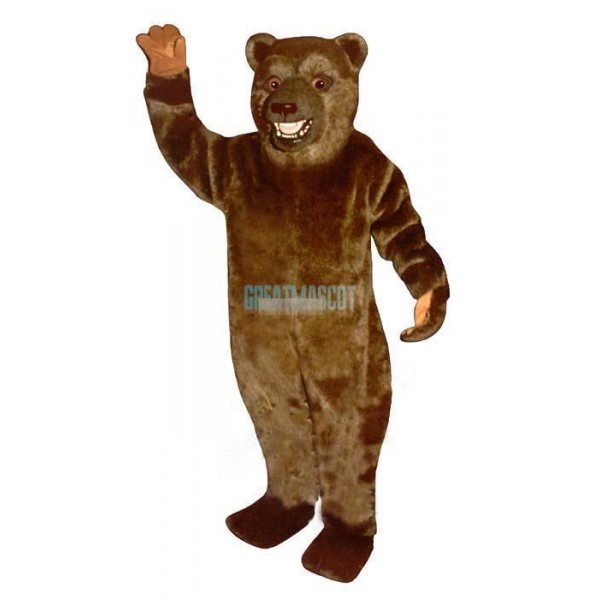 Snarling Bear Lightweight Mascot Costume