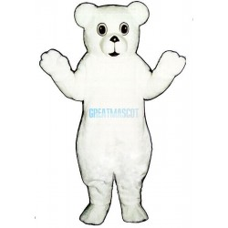 Snow Cub Lightweight Mascot Costume