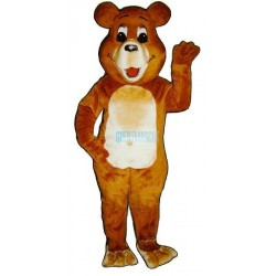 Belly Bear Lightweight Mascot Costume