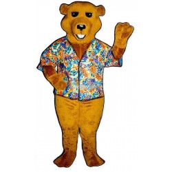 Barry Bear Lightweight Mascot Costume