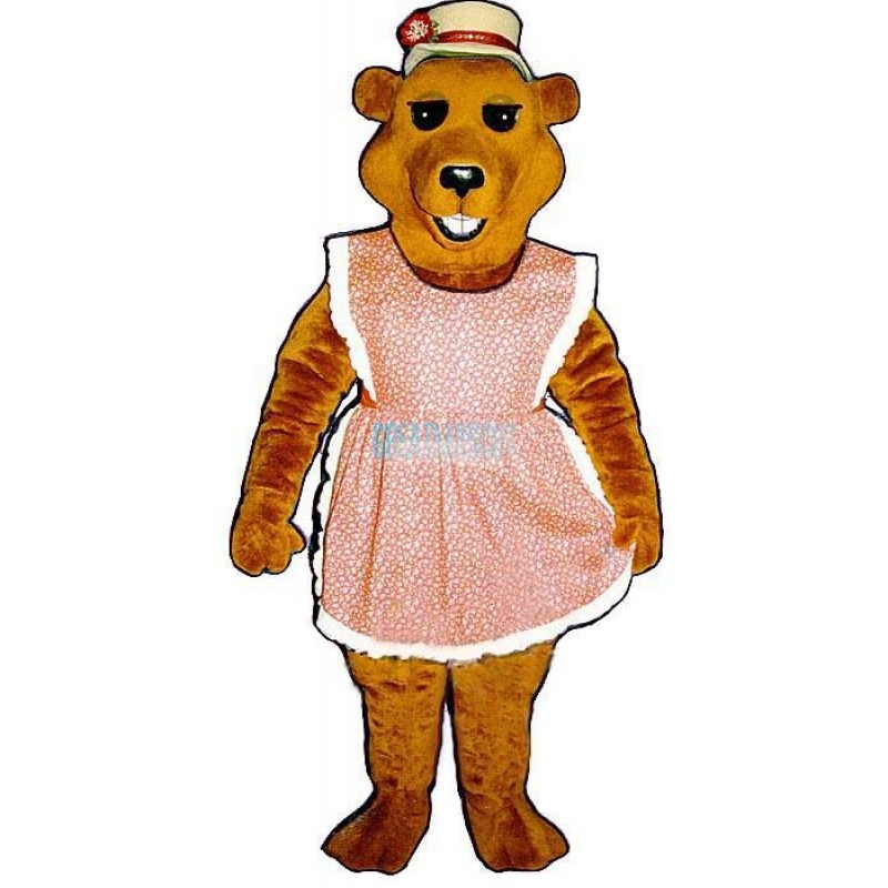 Cheri Bear Lightweight Mascot Costume