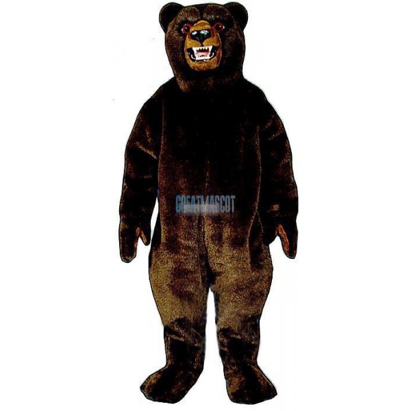 Growling Grizzly Lightweight Mascot Costume