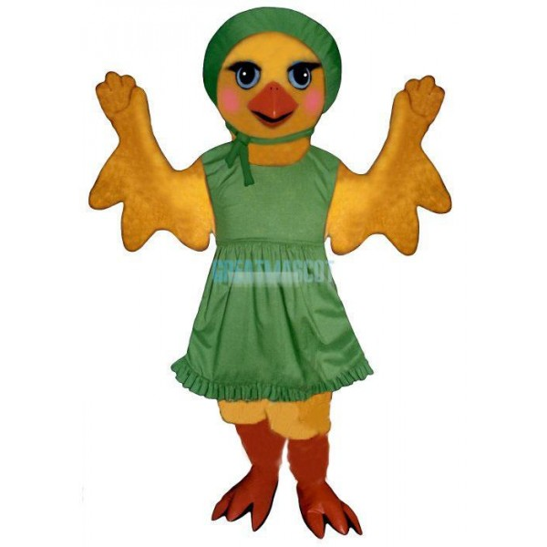 Chickie Chickw-Apron & Hat Lightweight Mascot Costume