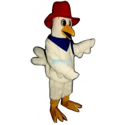 Western Chicken Lightweight Mascot Costume