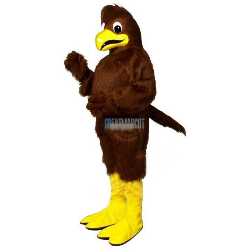 Crested Hawk Lightweight Mascot Costume