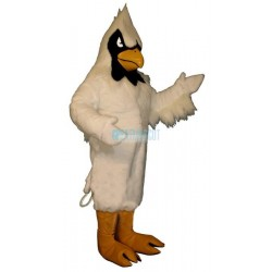 White Hawk Lightweight Mascot Costume