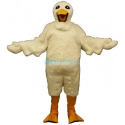 Duck w-Hood Lightweight Mascot Costume