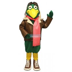 Green Baron w Pilot Outfit Lightweight Mascot Costume