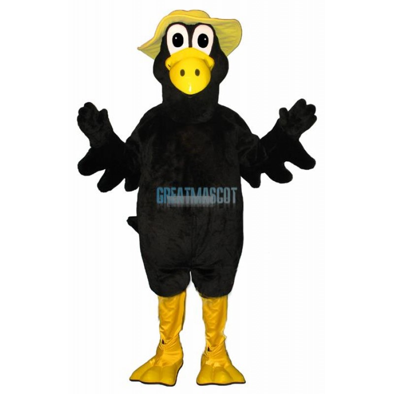Marty Magpie w Hat Lightweight Mascot Costume