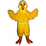 Bird Feathers Lightweight Mascot Costume