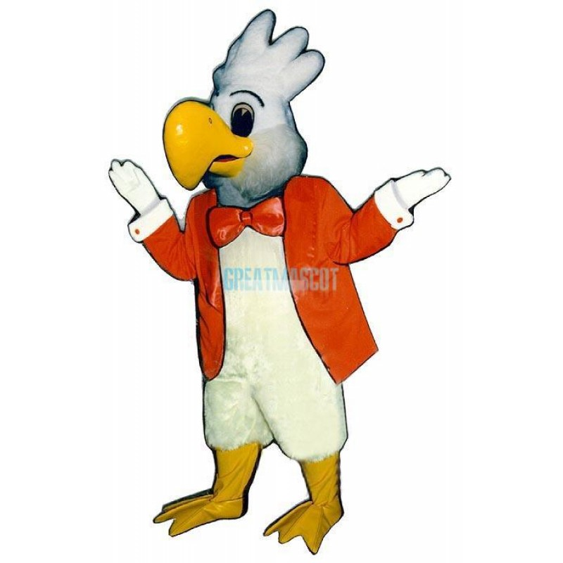 Cockatoo w-jacket Lightweight Mascot Costume