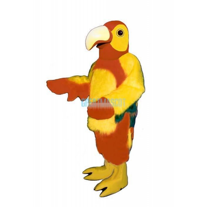 Red Parrot Lightweight Mascot Costume