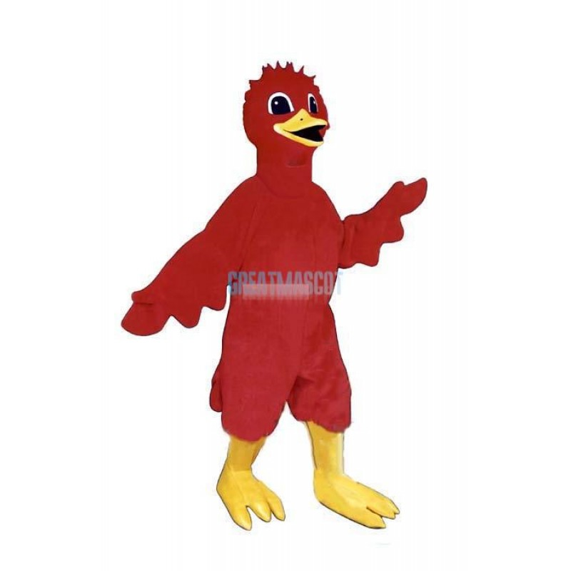 Scarlet Bird Lightweight Mascot Costume