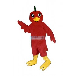 Li'l Red Bird Lightweight Mascot Costume