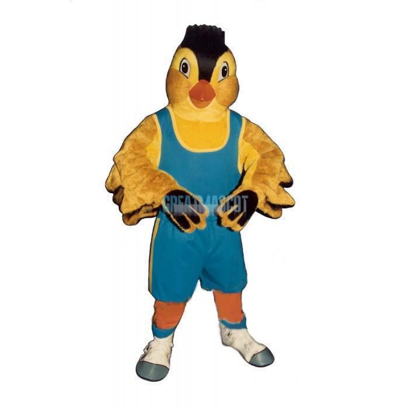Jogging Finch w Outfit Lightweight Mascot Costume