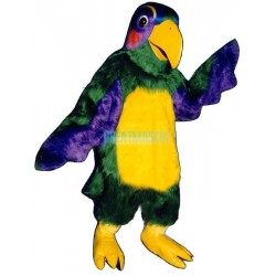 Colorful Parrot Lightweight Mascot Costume