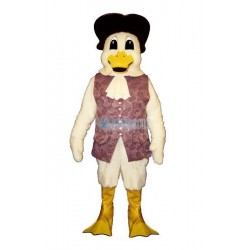 Colonial Duck w-Vest & Hat Lightweight Mascot Costume