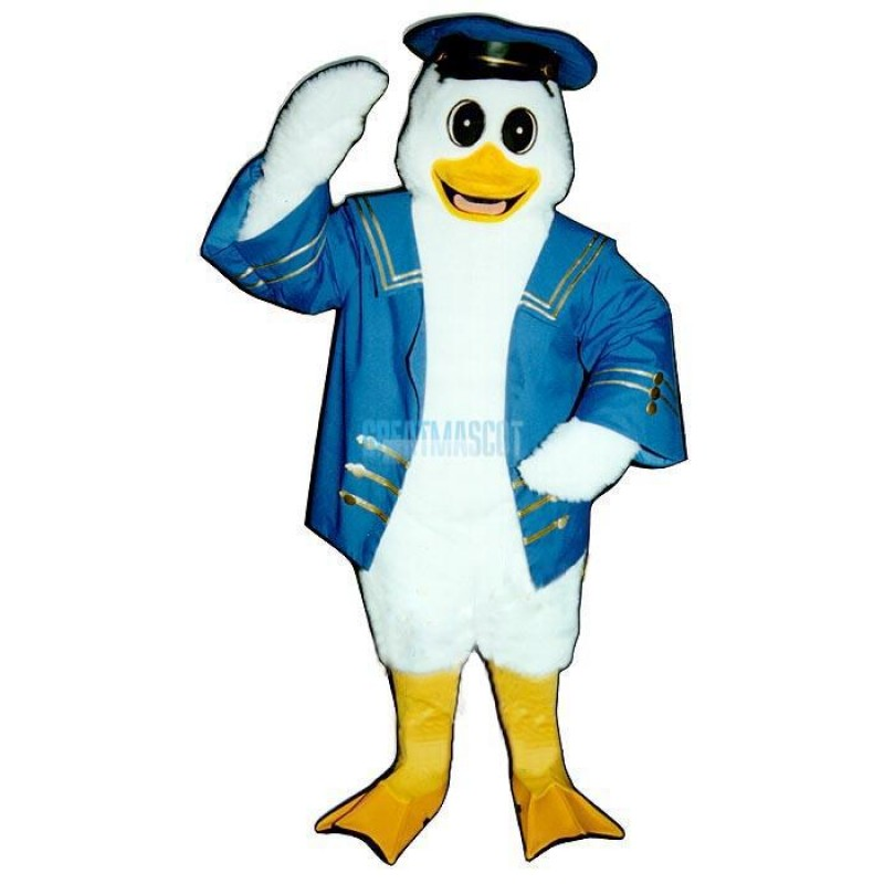 Captain Duckling Lightweight Mascot Costume