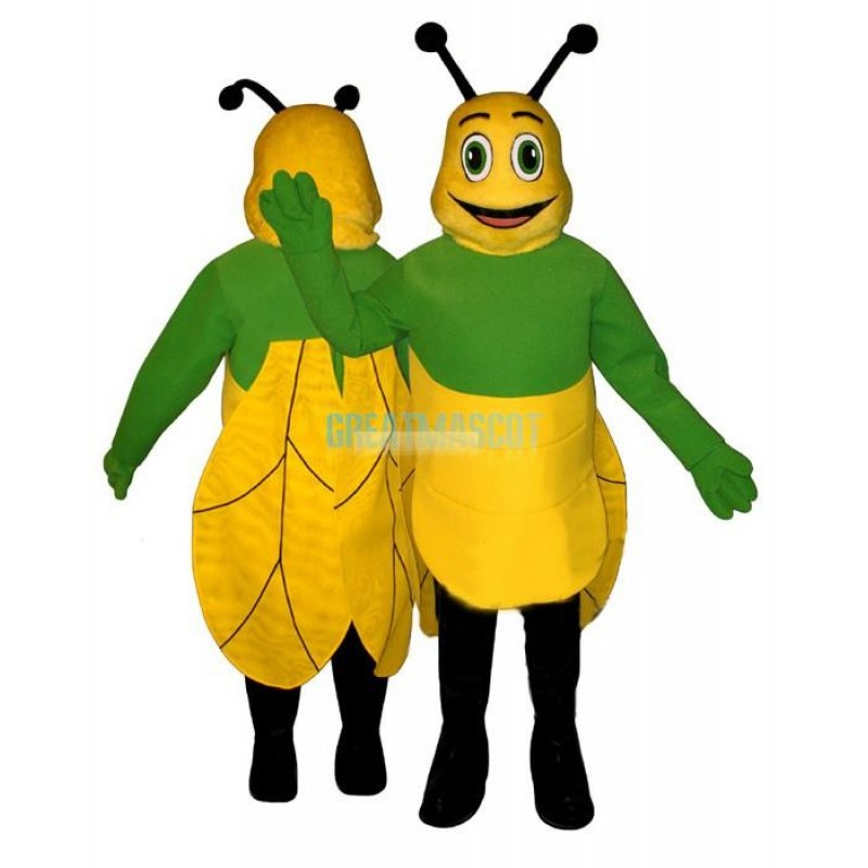 Winged Bug Lightweight Mascot Costume
