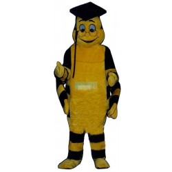 Educated Worm Lightweight Mascot Costume