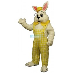 Y Eggbert w-Yellow Clothes Lightweight Mascot Costume