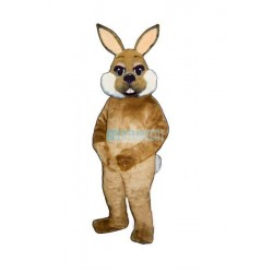 Brown Bunny Lightweight Mascot Costume