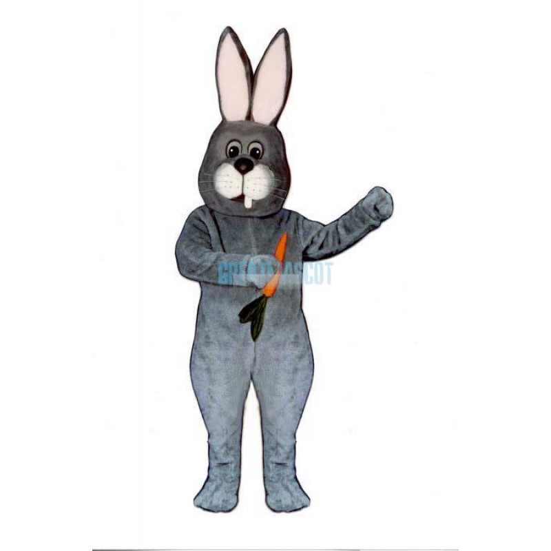 Toothless Rabbit (carrot not included) Lightweight Mascot Costume