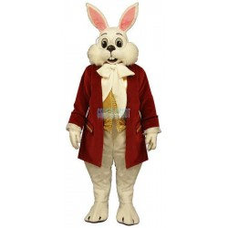 Wendell w-Red Jacket Lightweight Mascot Costume