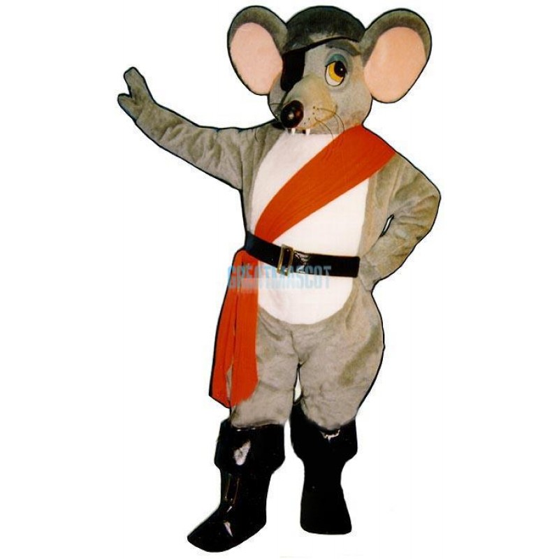 River Rat w-outfit Lightweight Mascot Costume
