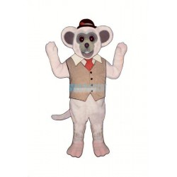 Marty Mouse Lightweight Mascot Costume