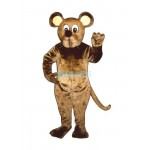 Brown Mouse Lightweight Mascot Costume