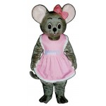 Mitzi Mouse Lightweight Mascot Costume