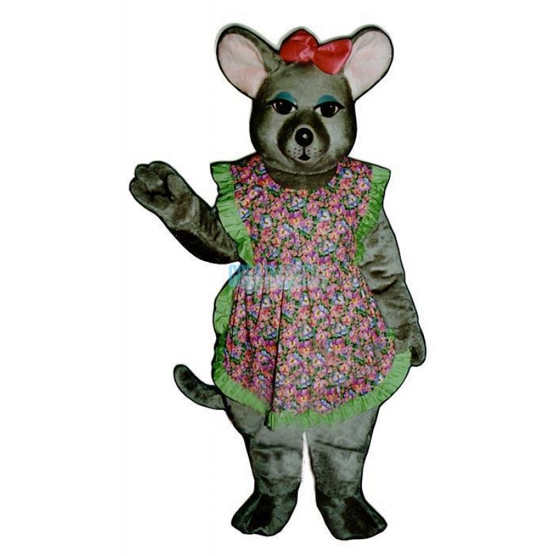 Charlotte Mouse w-outfit Lightweight Mascot Costume