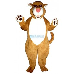 Saber Tooth Cat Lightweight Mascot Costume