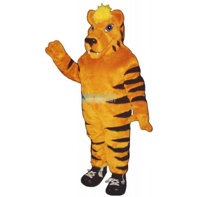 Tiger in Sneakers Lightweight Mascot Costume