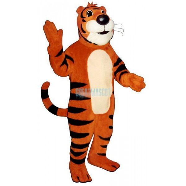 Timmy Tiger Lightweight Mascot Costume