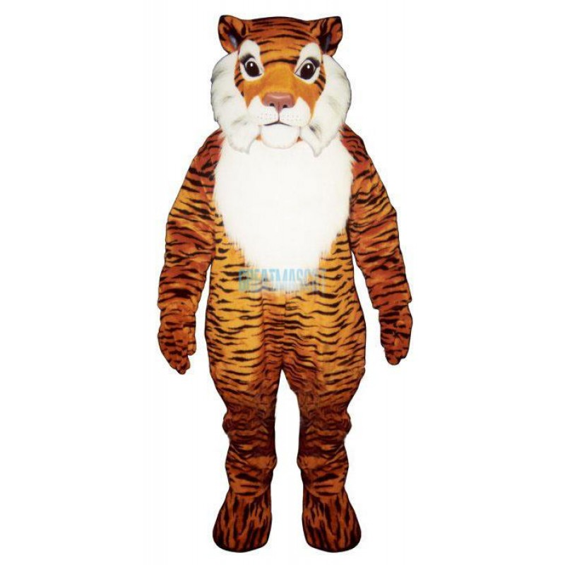 George Tiger Lightweight Mascot Costume