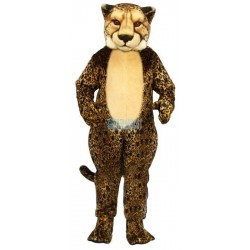 Cheetah Lightweight Mascot Costume
