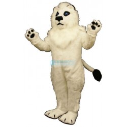 White Lion Lightweight Mascot Costume