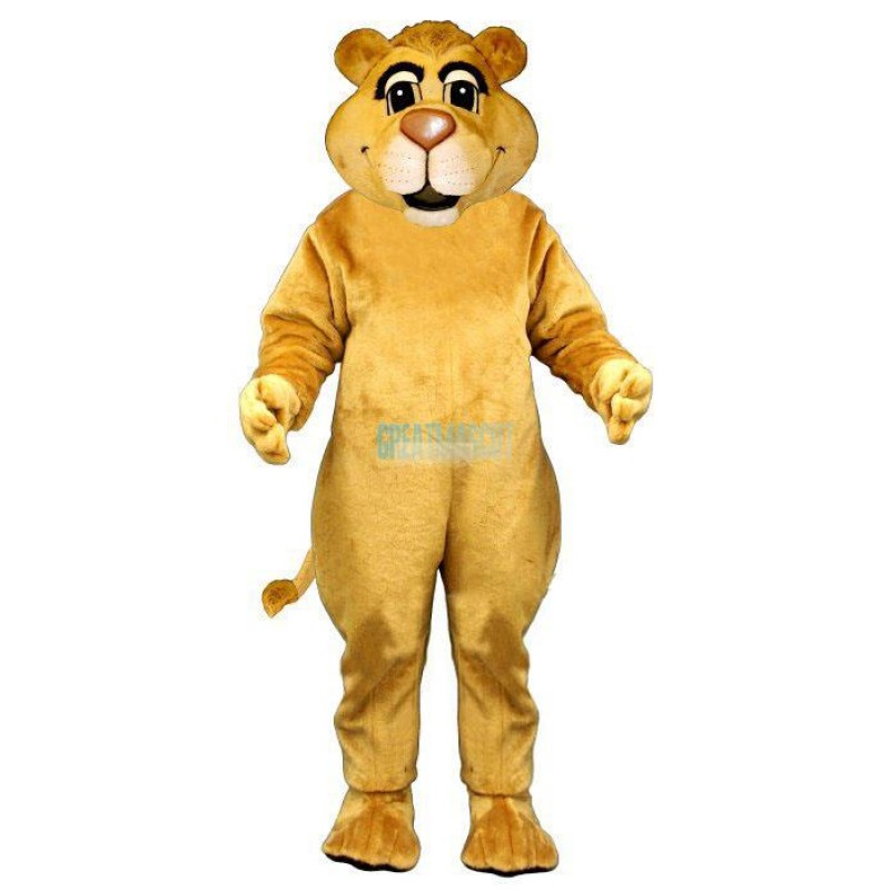Young Lion Lightweight Mascot Costume