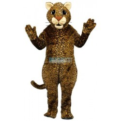 Leaping Leopard Lightweight Mascot Costume