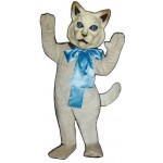 Cat w-bow Lightweight Mascot Costume