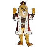 King Lionel Lightweight Mascot Costume