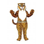 Tiger Only Head Mascot Costume