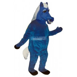 Blue Horace Horse Lightweight Mascot Costume