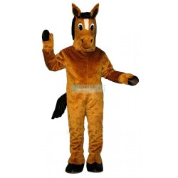 Brown Peter Pony Lightweight Mascot Costume