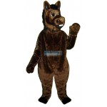 Brown Donkey Lightweight Mascot Costume