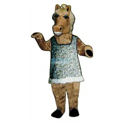 Martha Mare w-outfit Lightweight Mascot Costume