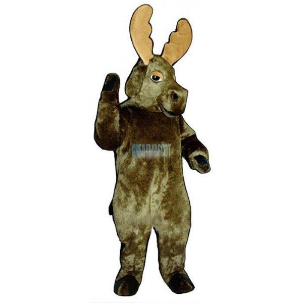 Realistic Moose Lightweight Mascot Costume