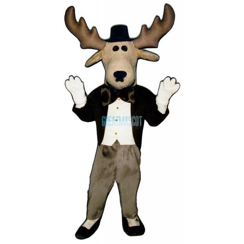 Moose About Town Lightweight Mascot Costume